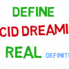 Define lucid dreaming - the REAL definition