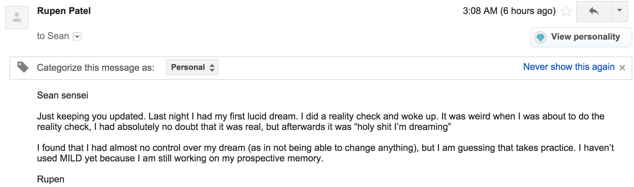 Lucid Dreaming Video Course